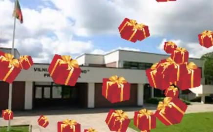Choro dainininkai sveikina mokyklą su Gimtadieniu!!!