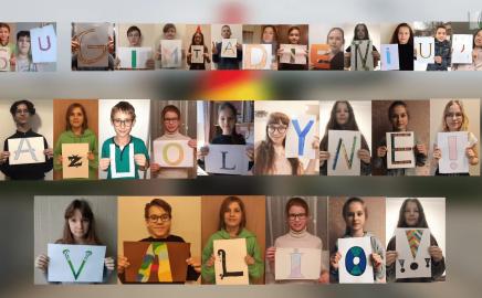 Progimnazija mini savo 40-ąjį gimtadienį