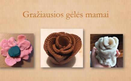 Jums, mielosios mamos, keramikos studijos darbelių paroda