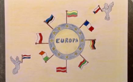 Plakatų skirtų Europos dienai paroda